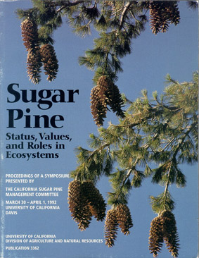 SUGAR PINE, Status, Values and Roles in Ecosystems - Cover